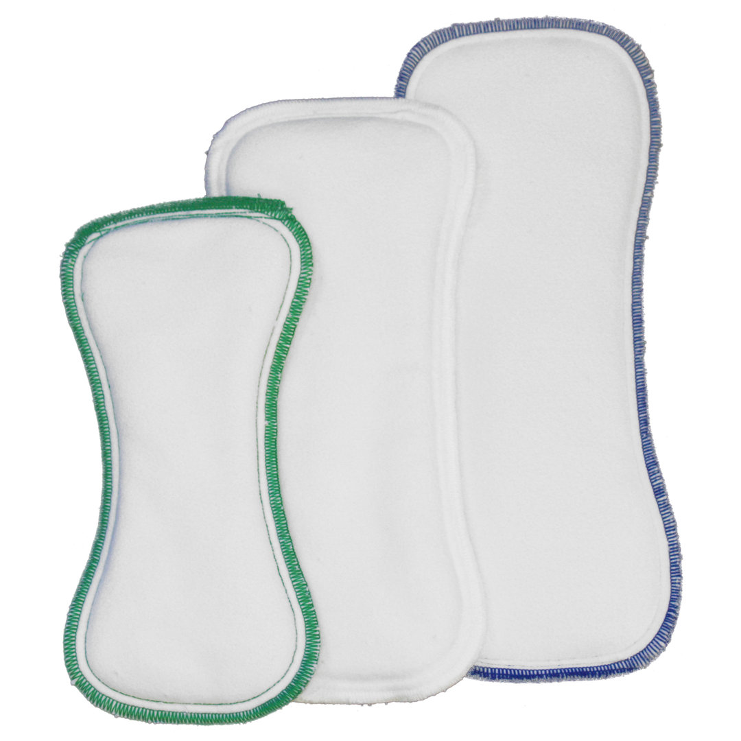 3 x Inserts Best Bottom Diaper Bambou Effet au Sec